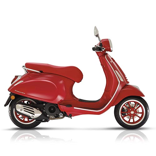 Vespa Primavera 125 3V RED ABS '20
