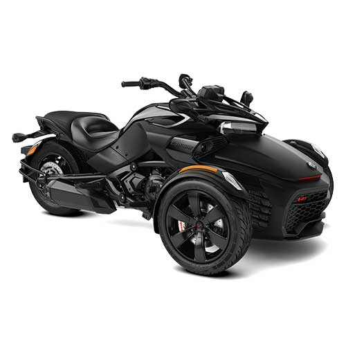 Can-Am Spyder F3-S Monolith Black Satin '21